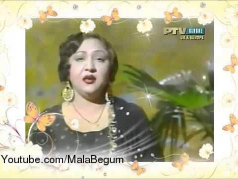MALA BEGUM & AHMED RUSHDI - Chale Thandi Hawa - Urdu Film Hits...