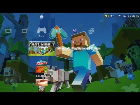 Minecraft PlayStation 3 (PS3) Gameplay - Creative Mode