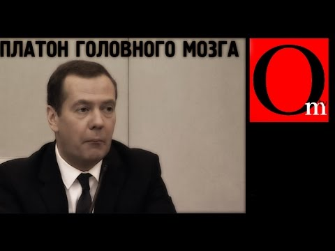 У Медведева Платон Головного Мозга!