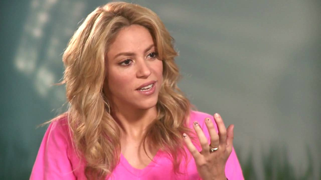 youtube presents  an interview with shakira