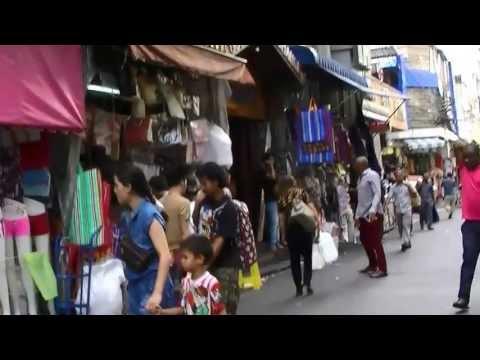 タイ バンコク プラトゥナム市場/Pratunam/Bangkok/Thailand