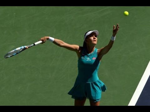 Agnieszka Radwanska vs Alison Riske Indian Wells 2015 Highlights