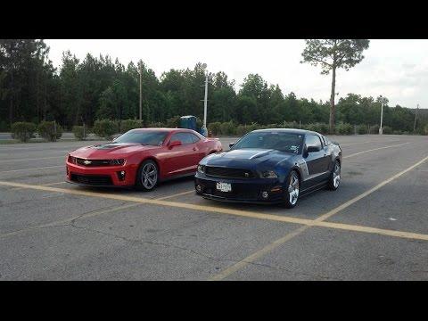 Mustang vs ZL1 Camaro