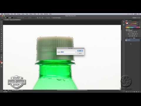 Como añadir una etiqueta a un envase con Photoshop