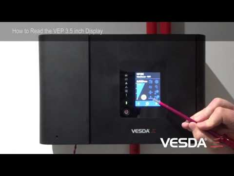 VESDA-E VEP: How to read LCD Display
