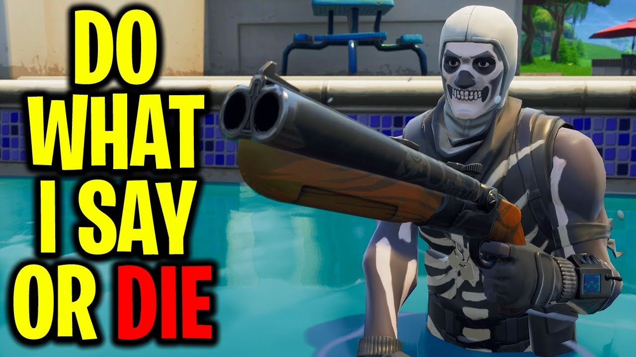 """Playing """"CRISPY SAYS"""" In Fortnite Battle Royale"""