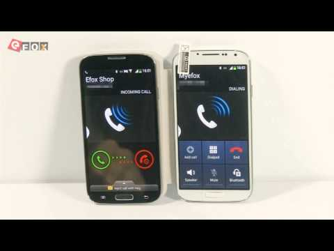 Efox Smart E4 - sumsang Galaxy S4 clone review Myefox español