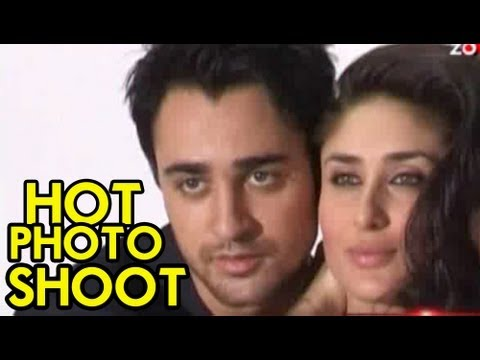 Imran Khan & Kareena Kapoor's Hot Photo Shoot video