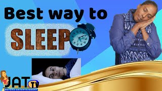 How to Sleep Faster with Best Sleeping Tips