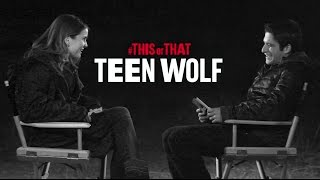 This or That with Tyler Posey & Shelley Hennig (part 1)