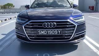 Audi A8 L Review 2019 : interior exterior