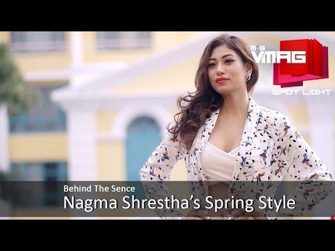 Nagma Shrestha Spring Fashion