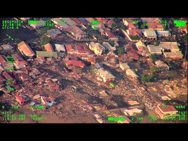 Indonesia earthquake tsunami: hundreds killed