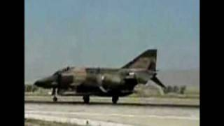 TUAF F-4 Take Off and Landing