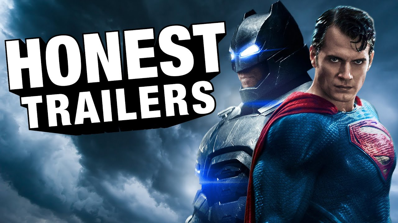 Batman Vs Superman Gets An Honest Trailer