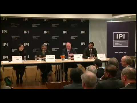 A Sustainable Solution to Somali Piracy, Panel I