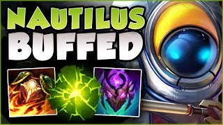 WTF! WHY ARE RIOT BUFFING TANKS THIS MUCH?? UNKILLABLE NAUTILUS TOP GAMEPLAY! - League of Legends
