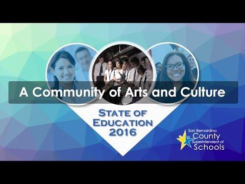 A Community of Arts and Culture - San Bernardino