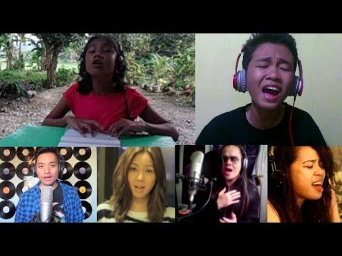 "Filipino YouTube Stars Unite in Song for Philippines (""The Prayer"" // Typhoon Haiyan Yolanda)"