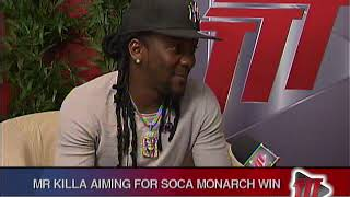 Mr Killa Aiming For Soca Monarch Win