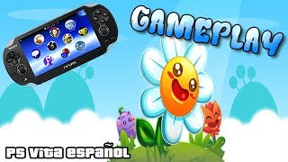 Gameplay Sun Flowers Ps Vita | Ps Vita ESPAÑOL