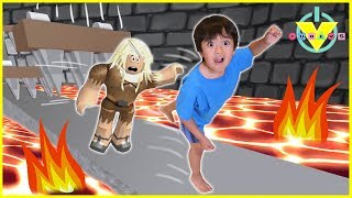 Vtubers Ryan Vs Daddy ROBLOX Let's Play Escape From Dungeon