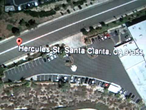 Paul Walker Crash Perspective Mapping Of Crash Site Youtube