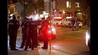 9 shot in downtown Toronto, gunman dead: police