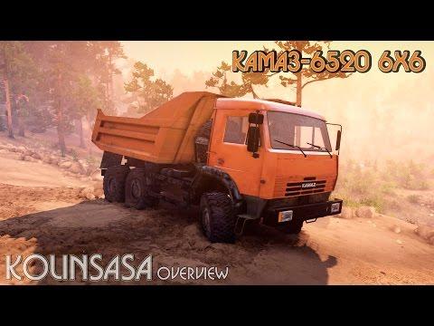 KamAZ-6520 dump truck 6x6