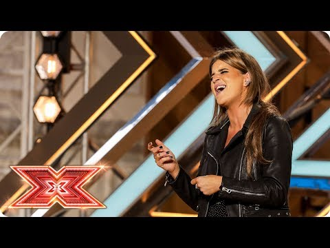 Nicole Caldwell takes on Prince's Purple Rain  Auditions Week 1  The X Factor 2017