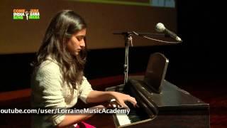 """Piano Performance: """"Allegro"""" by Arshiya Bhayana, student of Lorraine Music Academy"""