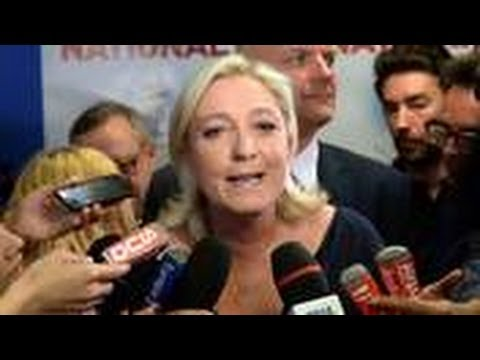 European Elections: Marine Le Pen's Far-Right National Front 'Win' In France!!!