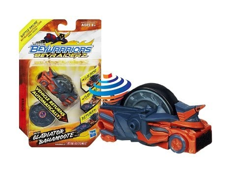 Beyblade  BeyRaiderz Gladiator Bahamoote Vehicle Unboxing Review Giveaway Exp Feb 16th