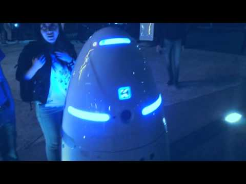 Behold The Future – Robot Security Guard