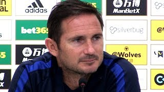 Wolves 2-5 Chelsea - Frank Lampard Full Post Match Press Conference - Premier League