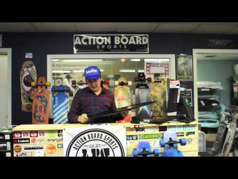Action Board Sports Reviews the Original Skateboards Arbiter Longboard