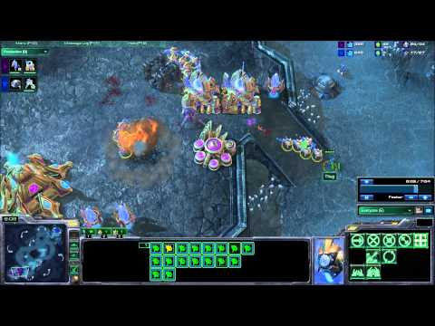 Defending Bunker Rush as Protoss