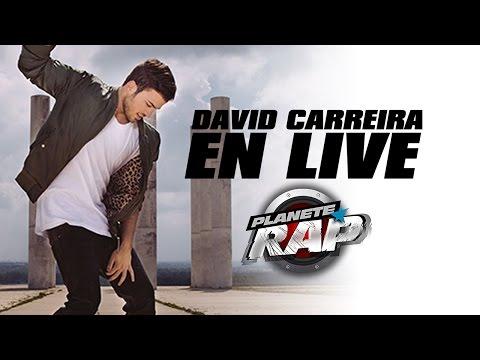 David Carreira en live dans Planète Rap !