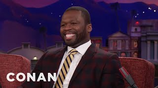 "Why Curtis ""50 Cent"" Jackson Called Jay-Z's New Album ""Golf Course Music""  - CONAN on TBS"