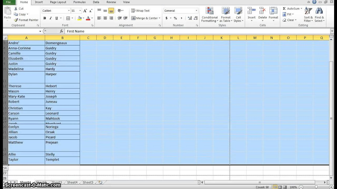 how to change row height in excel