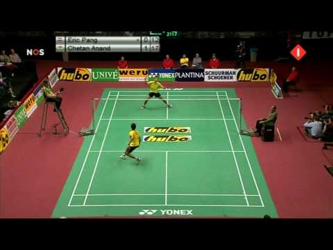 Dutch Open 2009 Finale ME  Eric Pang vs Chetan Anand part 2