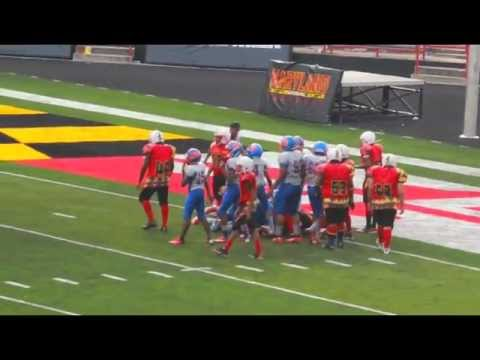 GMYFL 2012 Game of the week, Week# 3 Westlake Bulldogs vs Baltimore Terps.
