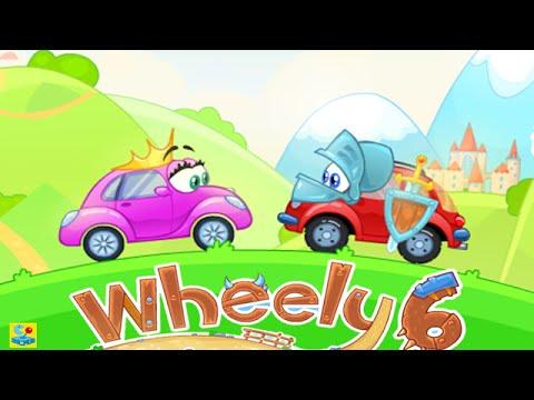 Wheely 6 Fairytale Walkthrough All Levels 1 - 14