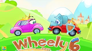 Wheely 6 Fairytale Walkthrough All Levels 1 - 14