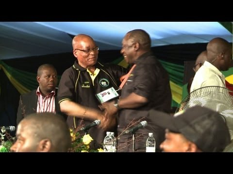 Zuma wins S. Africa ruling party leadership vote