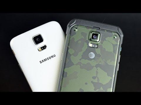 Samsung Galaxy S5 Active: Unboxing & Comparison (4K)