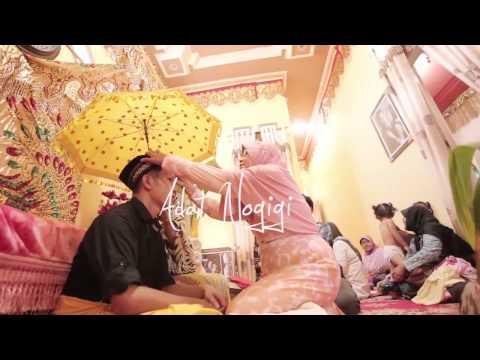 Traditional wedding kota palu, sulawesi tengah