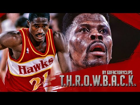 Throwback: Patrick Ewing vs Dominique Wilkins 52 Full Duel Highlights 1991.12.07 Knicks at Hawks