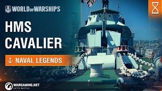 World of Warships - Naval Legends: HMS Cavalier