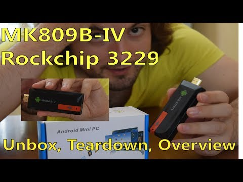 Cheapest 2GB Ram Android TV Box - MK809IV ROCKCHIP 3229 UNBOX REVIEW - AVOID !